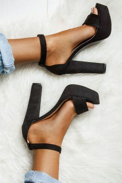 Black High Heels Women Shoes, FS118 from FashionGirlShoes
